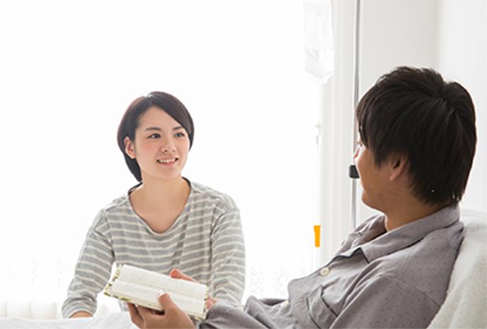 入院生活/お見舞い・面会について|入院のご案内|大阪府堺市 日野病院
